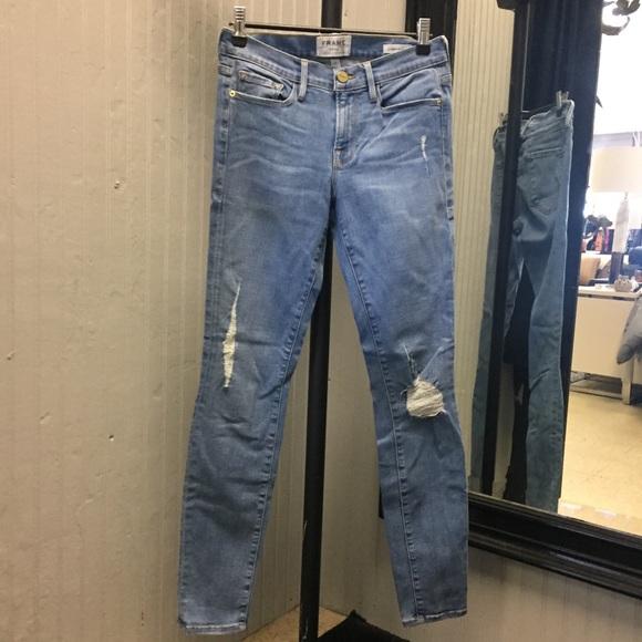 Frame Denim Denim - Frame light wash denim jeans.